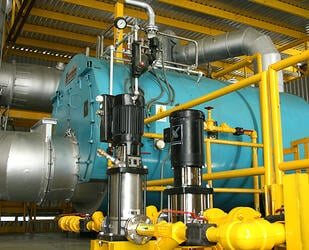200hp-Steam-Generator for waste to energy production