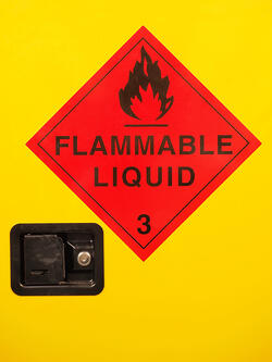 storage of flammable liquids in warehouse