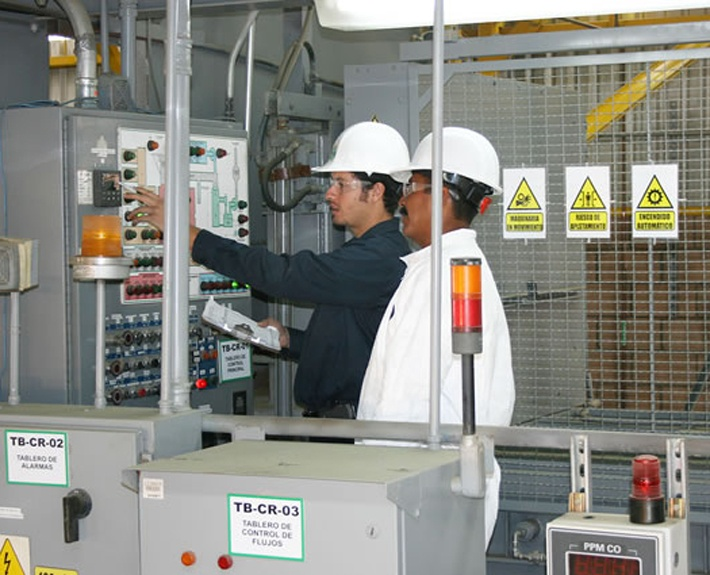 Waste-to-Energy-Control-Panel