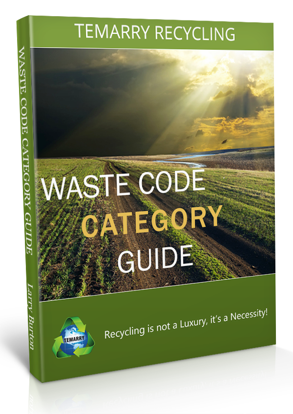 Temarry-Recycling-Waste-Code-Category-Guide